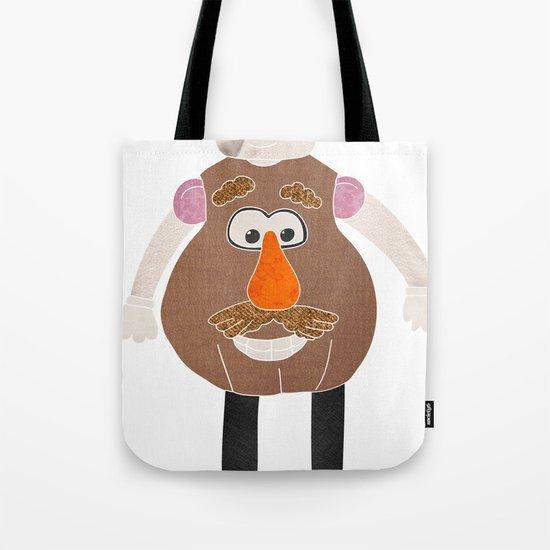Mr Potato Head Tote Bag