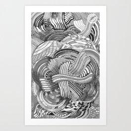 complex 1 Art Print