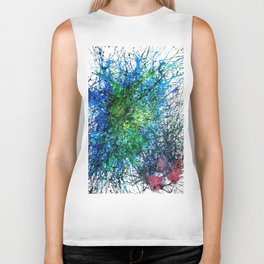 Abstract Synapse 293 Biker Tank
