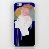 nordic iPhone & iPod Skins featuring NORDIC ART by J. Holmgren Design