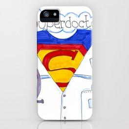 Superdoctor  iPhone Case