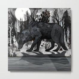 Black Shuck Metal Print
