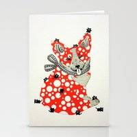 corgi Stationery Cards featuring Corgi. by ruffgaws