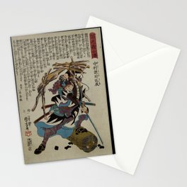 Utagawa Kuniyoshi - Print from the 47 Ronins (1848) Stationery Cards