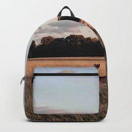 Deers going home Backpack