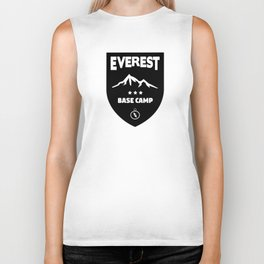Mount Everst Base Camp Biker Tank