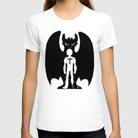 hiccup T-shirts featuring Heart of a Chief Soul of a Dragon by Chouly-Shop