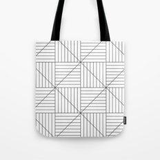 Hypnotic Lines Tote Bag