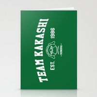 kakashi Stationery Cards featuring Team Kakashi by Tsundere in the Sheets