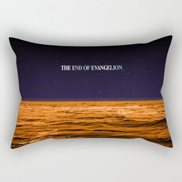 Movie Poster: The End of Evangelion Rectangular Pillow
