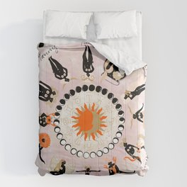 Zodiac Wheel Comforters