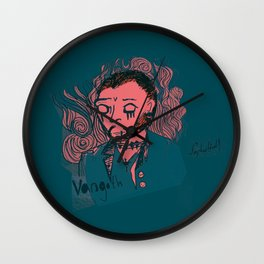 Vincent VanGoth Wall Clock
