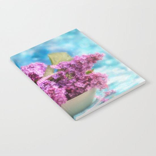 Syringa vulgaris #lilac still life Notebook