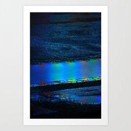 Midnight Complexion Art Print