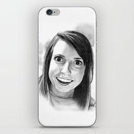 Laina Morris iPhone Skin