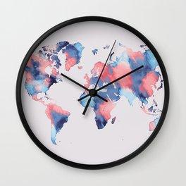 map world map 58 Wall Clock