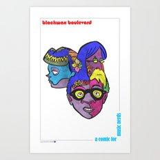 Blackwax Boulevard Book 4 Poster Art Print