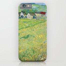 Vincent Van Gogh View Of Vessenots Near Auvers iPhone Case