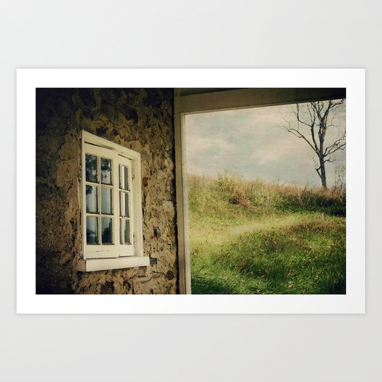 A Meadow View Art Print