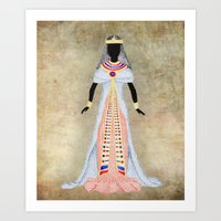 egypt Art Prints featuring Egypt by Dany Delarbre