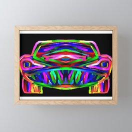 Fear the  Beast  Framed Mini Art Print