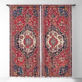 Sarouk Farahan Arak West Persian Rug Print Blackout Curtain