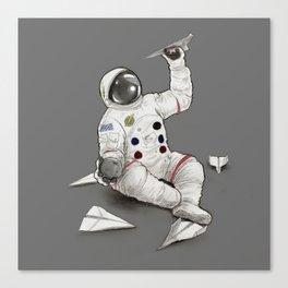 Astronaut in Training Canvas Print
