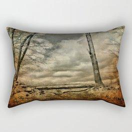 Living the Questions Rectangular Pillow