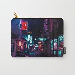 Late Night in Shinjuku's Golden Gai Carry-All Pouch