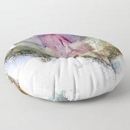Vulva Flower Floor Pillow