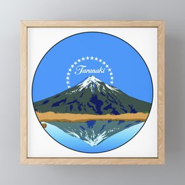 Taranaki Framed Mini Art Print
