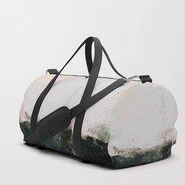 abstract smoke wall painting Duffle Bag