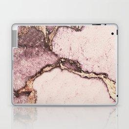 GEMSTONE AND GOLD BLUSH ROSE Laptop & iPad Skin