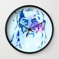 gandalf Wall Clocks featuring Gandalf by BIG Colours