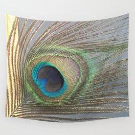 Peacock Feather No.1 | Feathers | Nadia Bonello | Ottawa | Canada Wall Tapestry