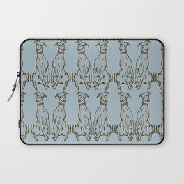 What did you say? Whippet  Laptop Sleeve