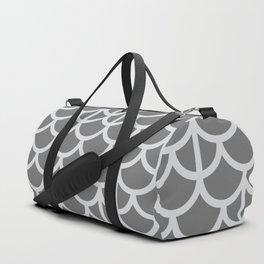 Strict Mermaid Scales Grey Duffle Bag