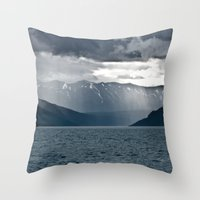 alaska Throw Pillows featuring Alaska by Paweł Kotas
