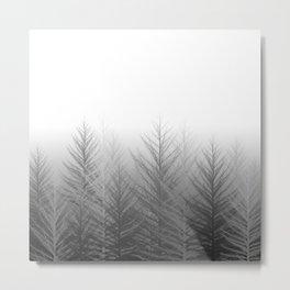 The Silent Florest Metal Print