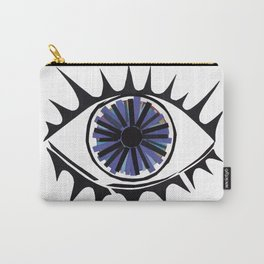 Blue Eye Warding Off Evil Carry-All Pouch