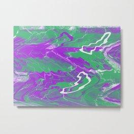 pink effect Metal Print