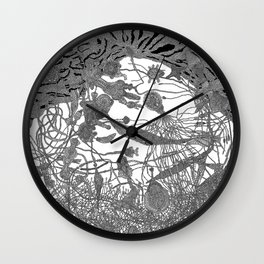 Story of Deep Area Wall Clock
