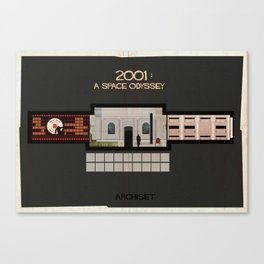 2001 A Space Odyssey_Directed by Stanley Kubrick Canvas Print