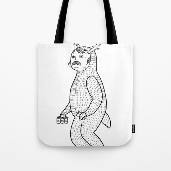 On the inconveniences of dressing up as an animal. Tote Bag