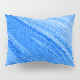 401 - Abstract Flowing Water Design Pillow Sham