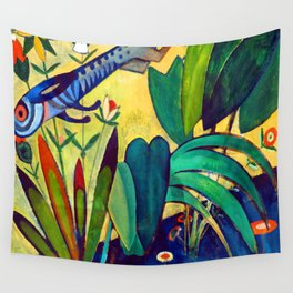 Amadeo de Souza Cardoso The Leap of the Rabbit Wall Tapestry