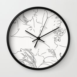 Living my life with you Wall Clock