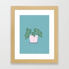 Grow Where Your Planted Framed Art Print