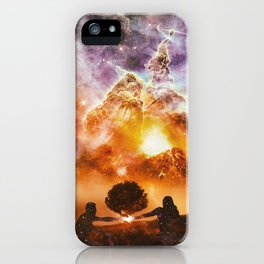 INFINITE WORLD #3 iPhone Case