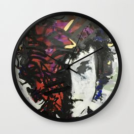 The Colors in Your Mind Wall Clock